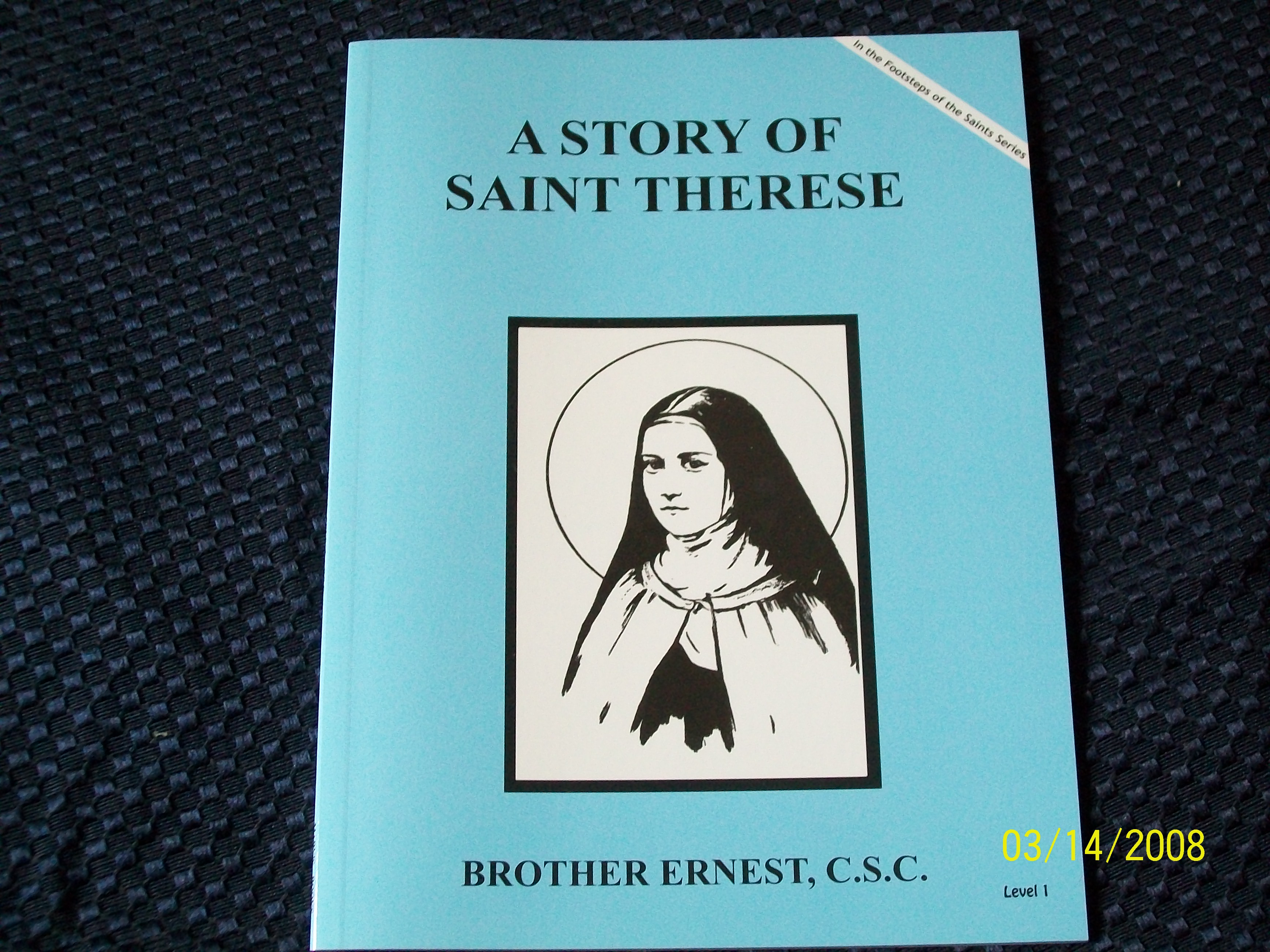 Image for A Story Of Saint Therese