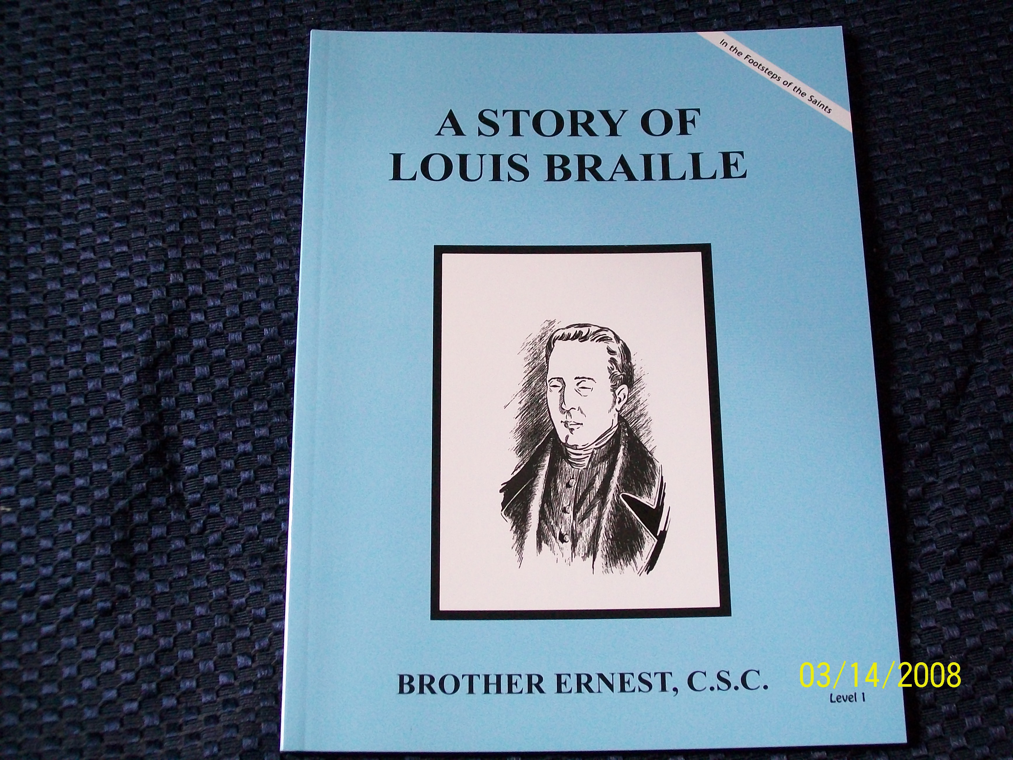 Image for A Story Of Louis Braille