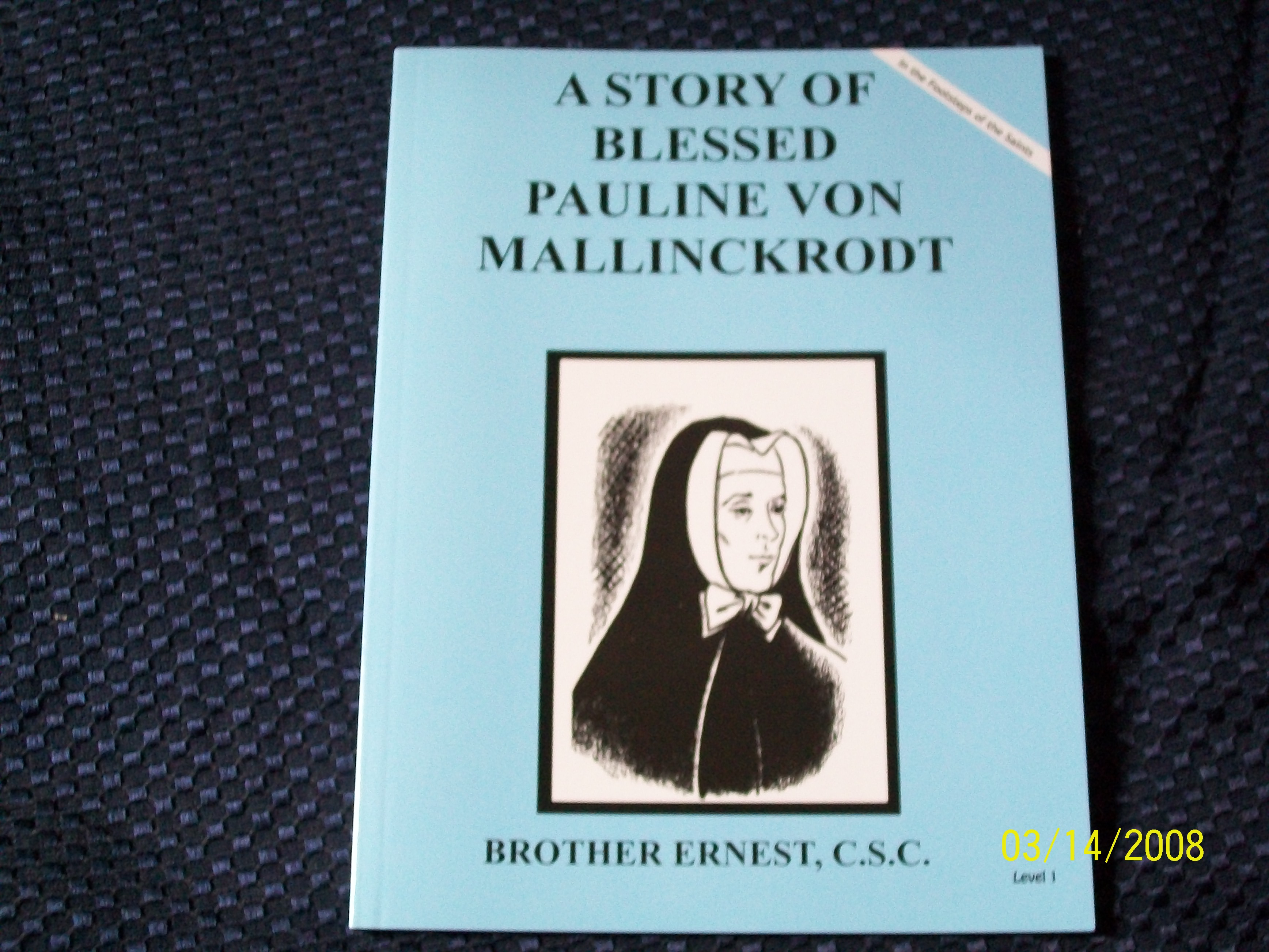 Image for A Story Of Blessed Pauline Von Mallinckrodt