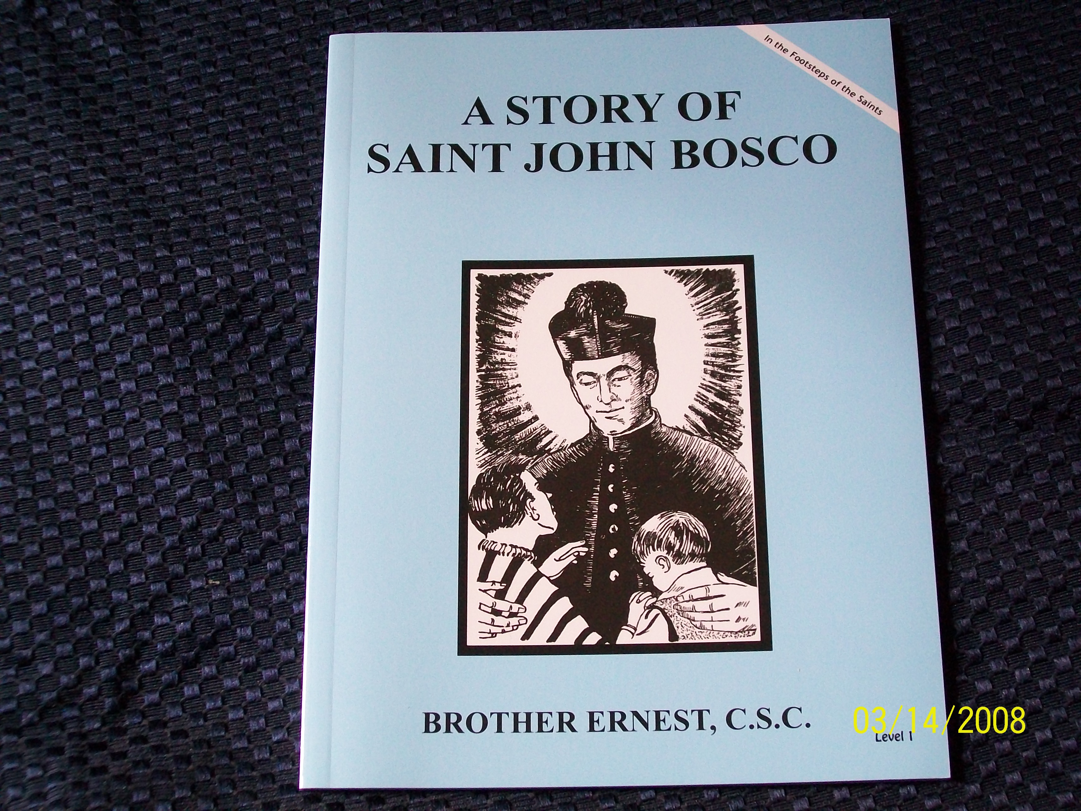 Image for A Story Of Saint John Bosco