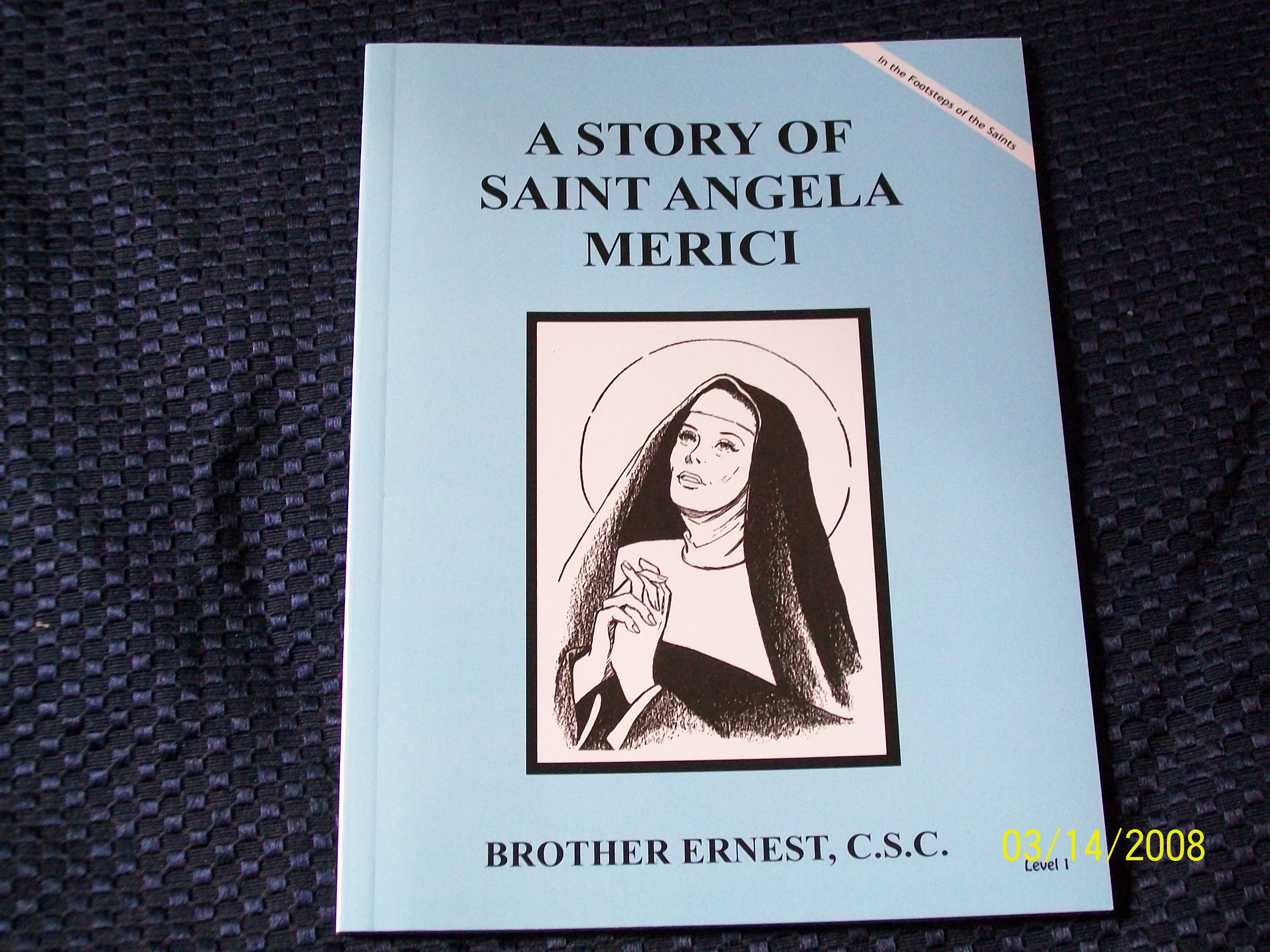 Image for A Story Of Saint Angela Merici