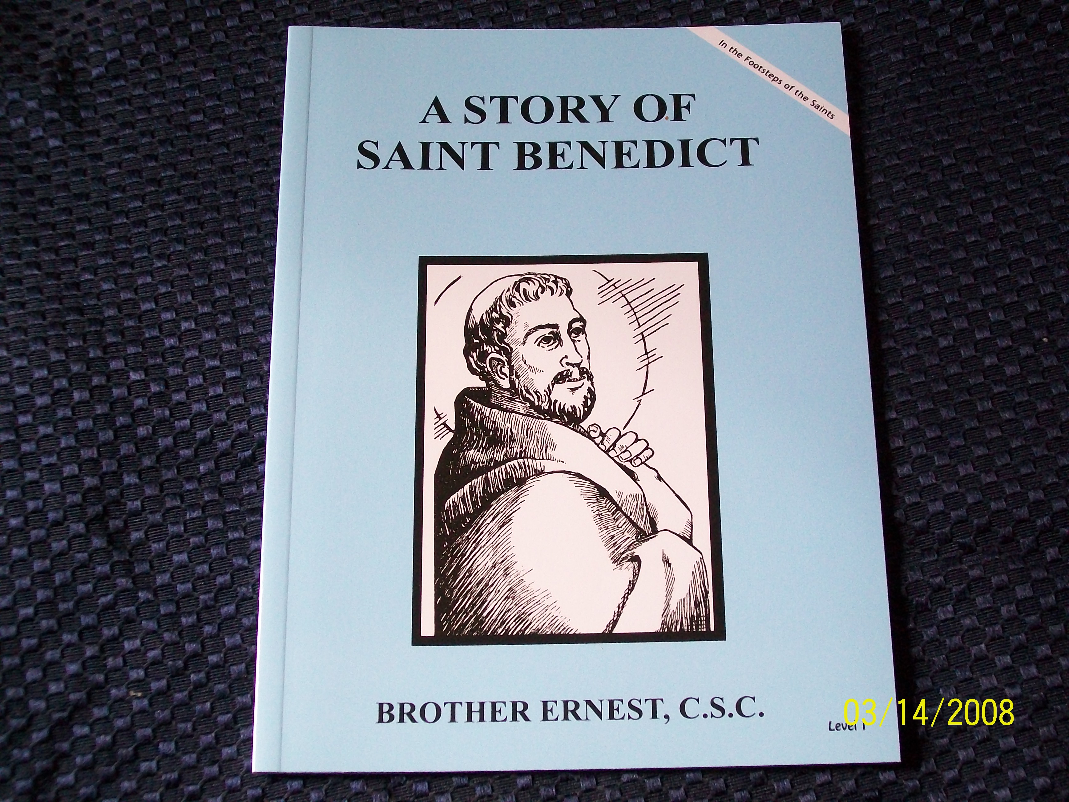 Image for A Story Of Saint Benedict